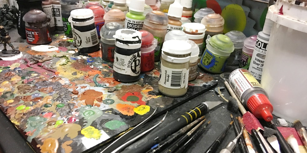 Properties Of Acrylic Paints