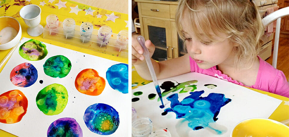 Easy Steps On How To Teach Children To Paint With Oil Paints