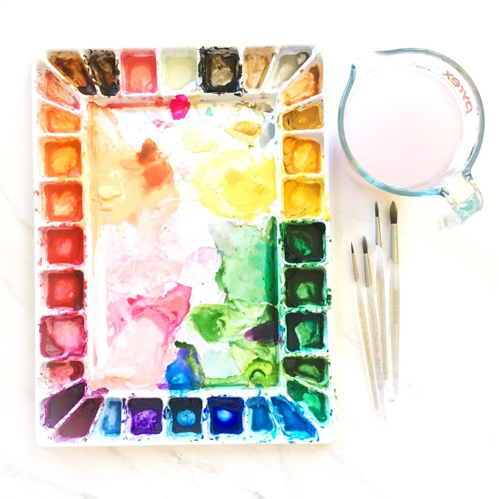 5 Creative Ways On How To Mix Watercolor Paints