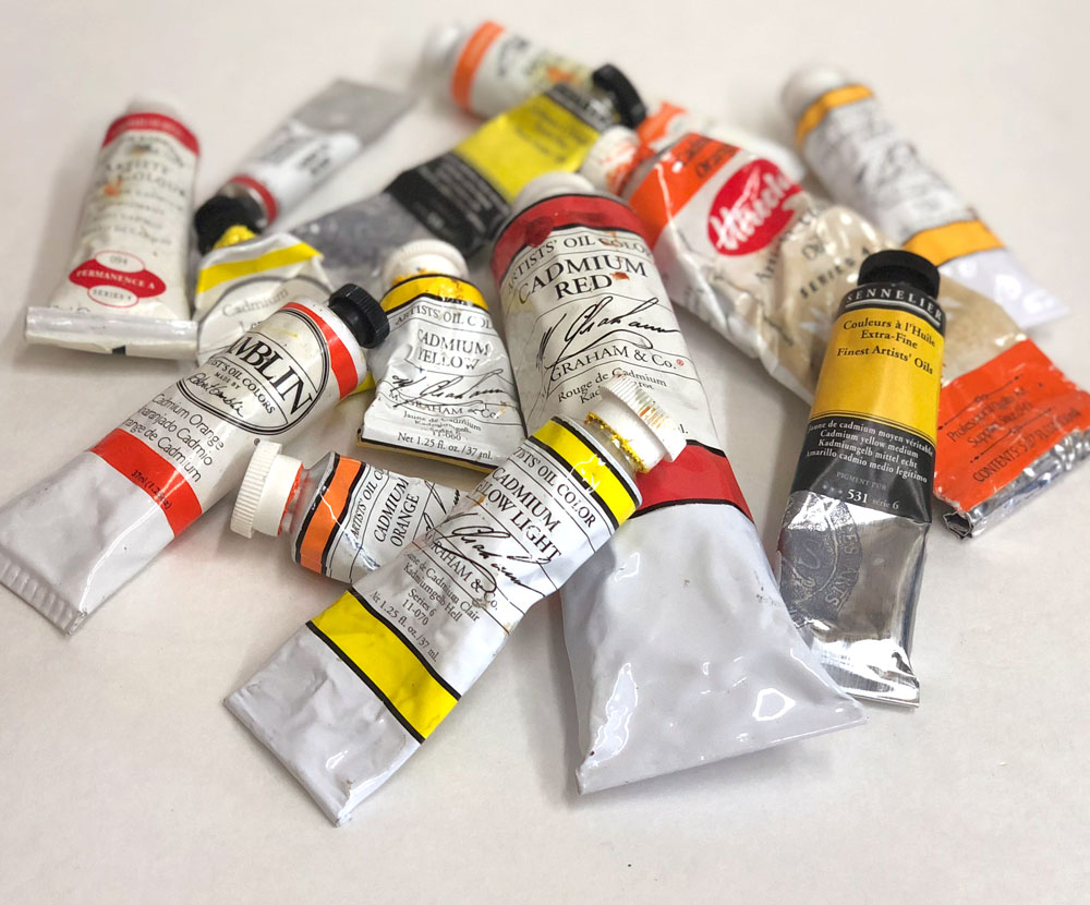 5 Great Facts About Oil And Acrylic Paints