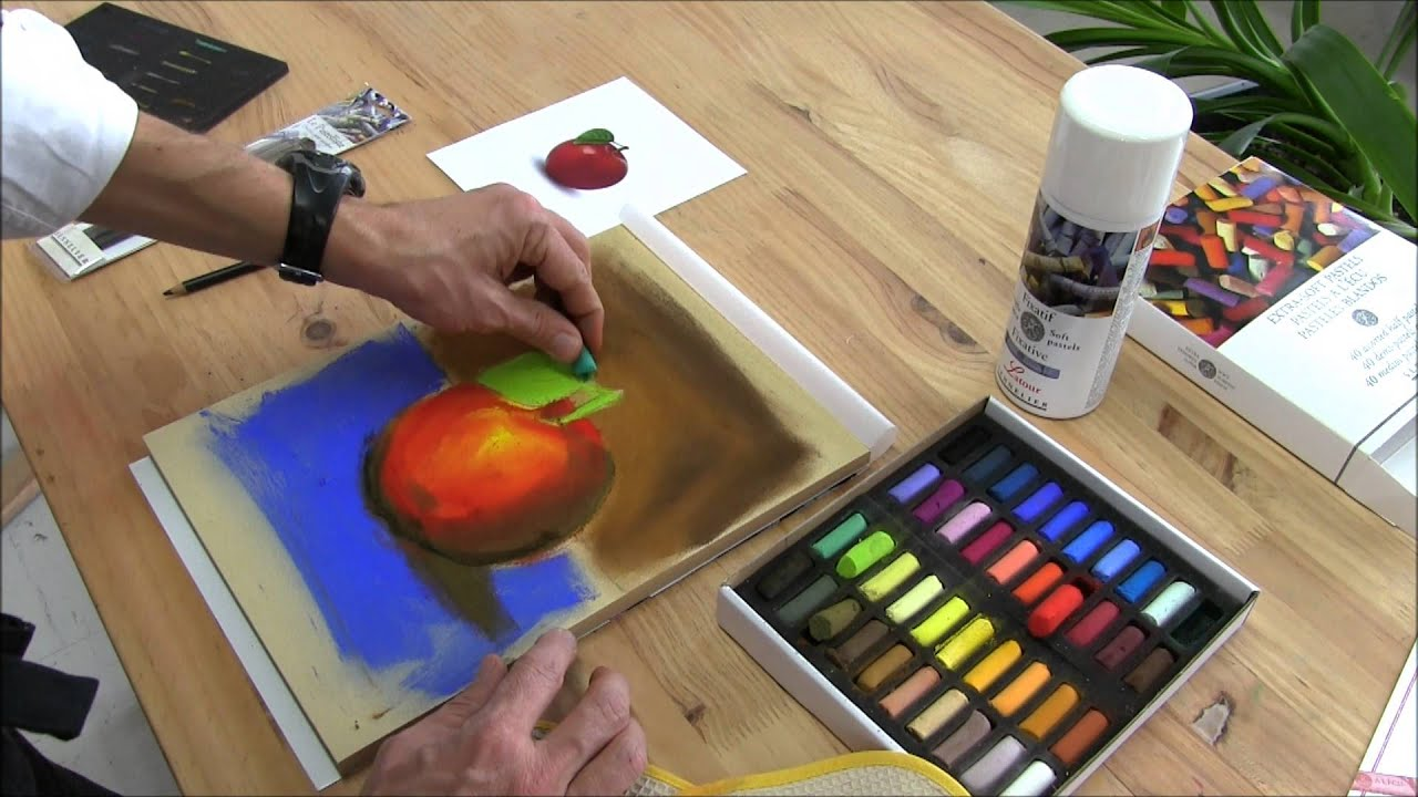 How To Fix Pastel Painting With Fixatives