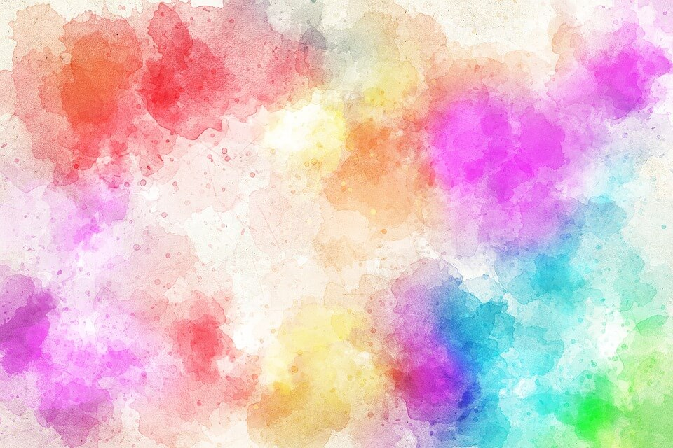 7 Steps For Abstract Watercolor Painting
