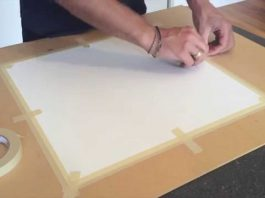 8 Easy Tips to Stretch Watercolor Paper