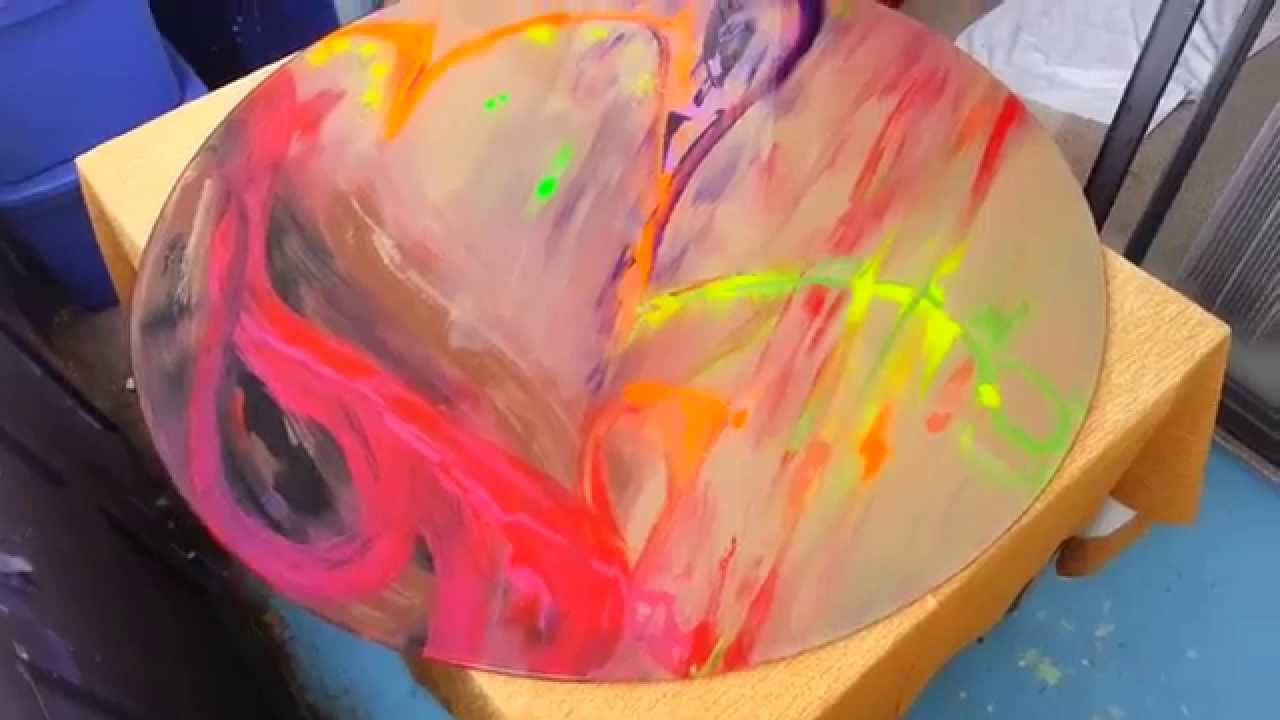 Mix Media: Acrylics And Pastels Together