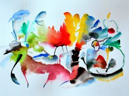 10 Easy Abstract Watercolor Painting Steps
