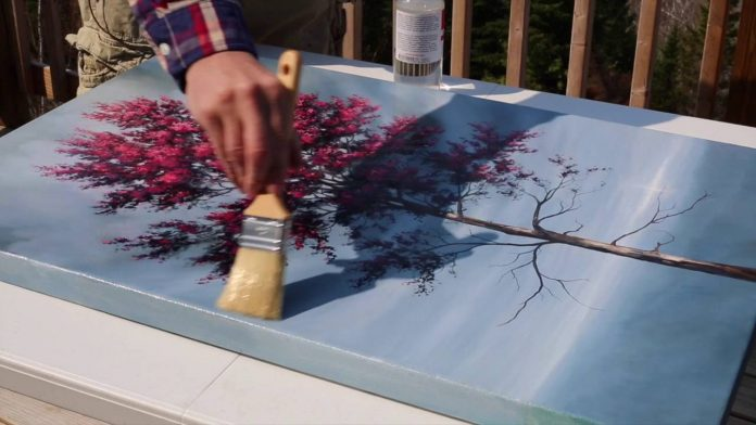 7 Easy Steps To Varnish Your Acrylic Painting