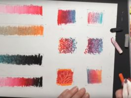 10 Excellent Oil Pastel Painting Techniques