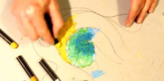 The 2 Proper Way Of Using Oil Pastels