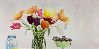 10 Steps For A Dynamic Still-Life Watercolor Painting