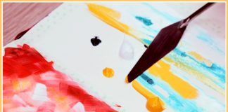 Mix Media: Watercolors And Acrylics Together