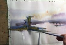 Painting Oil Paints On Paper