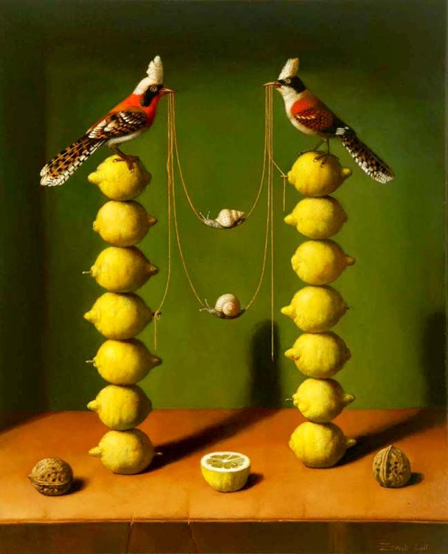 Elements Of Composition: Balance In Arts