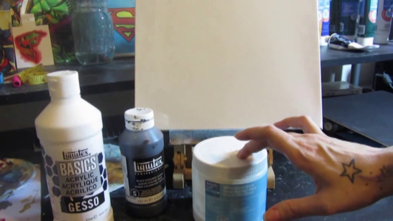 5 Easy Steps To Gesso Your Painting Canvas
