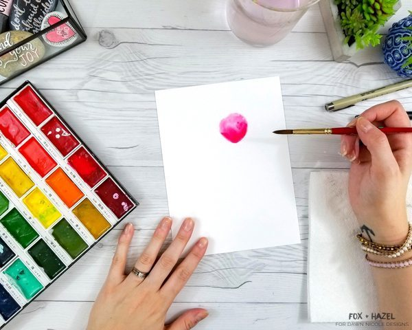 5 Easy Watercolor Flower Tutorial Steps For Beginners