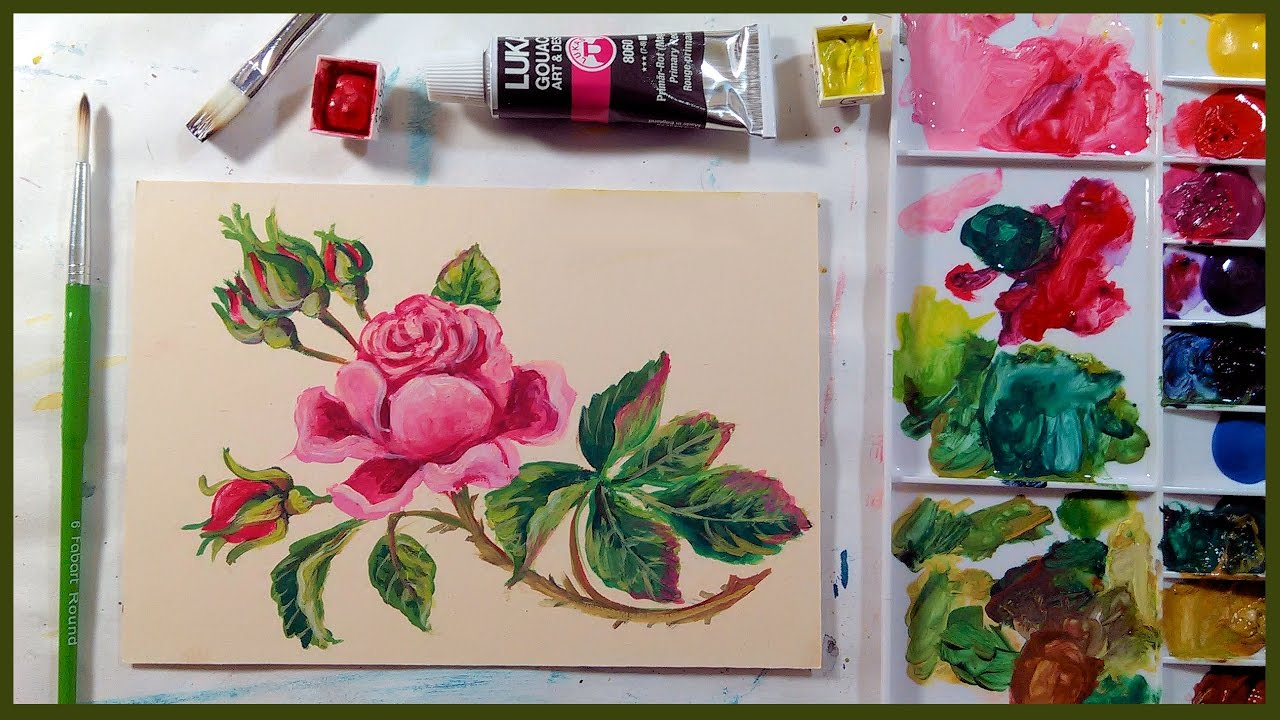7 Benefits Of Gouache Paint In Pans And Tubes