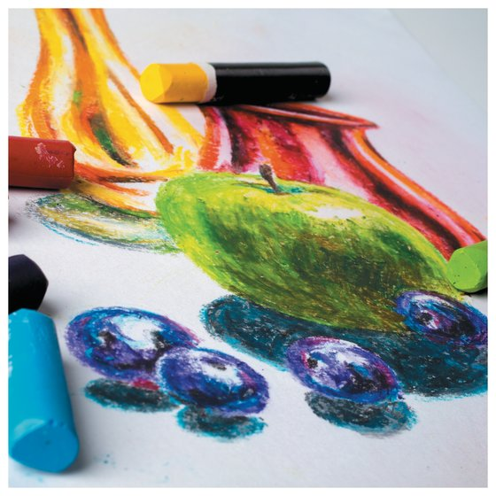 Experiment - 9 Amazing Tips To Use Oil Pastels