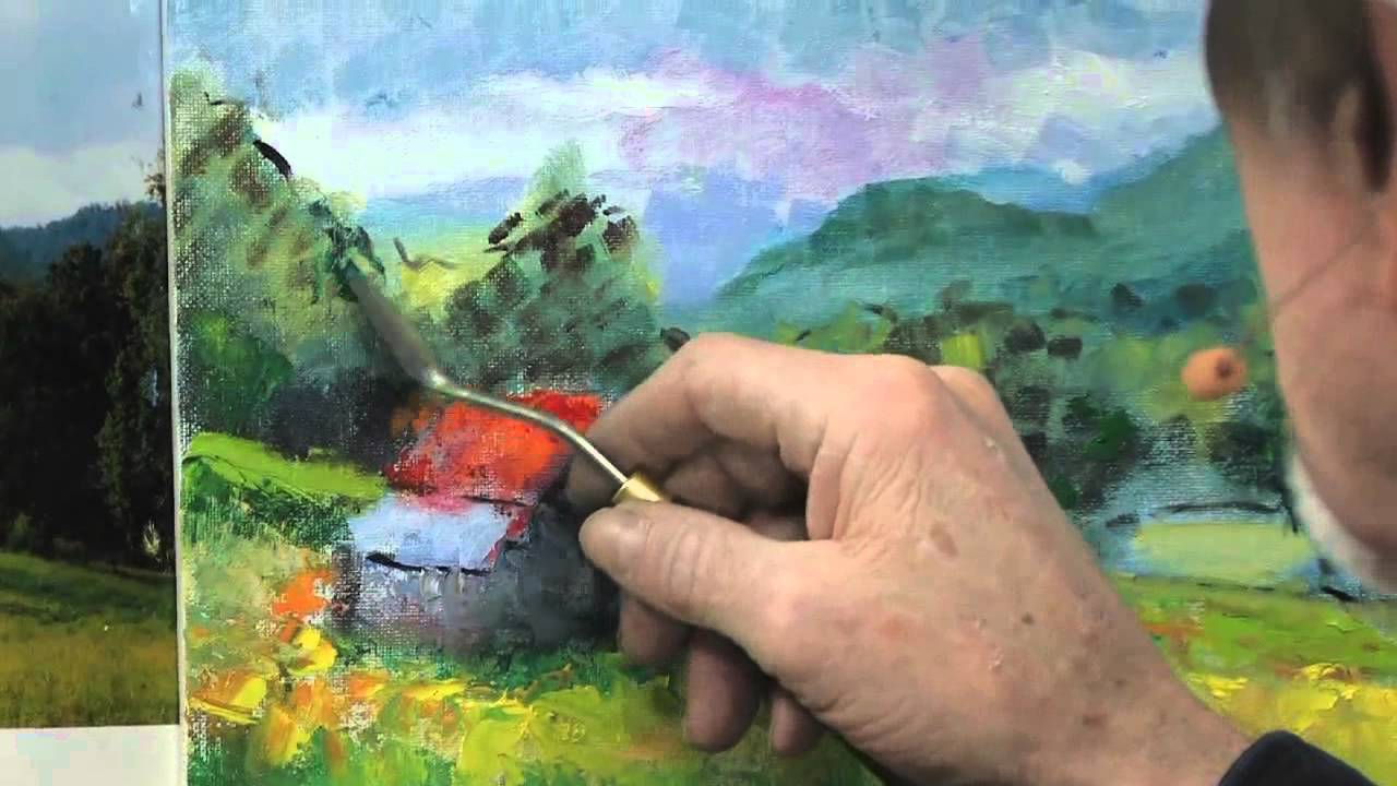 Oil painting with palette knife - 6 Popular Palette Knife Techniques For Painting