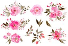 Watercolor floral - 5 Easy Watercolor Flower Tutorial Steps For Beginners