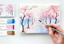 Spring tree painting - 7 Easy Watercolor Spring Tree Painting Tutorial