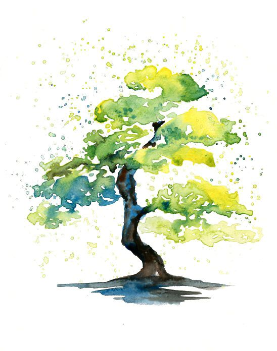 Spring tree ideas for waterolors - 7 Easy Watercolor Spring Tree Painting Tutorial