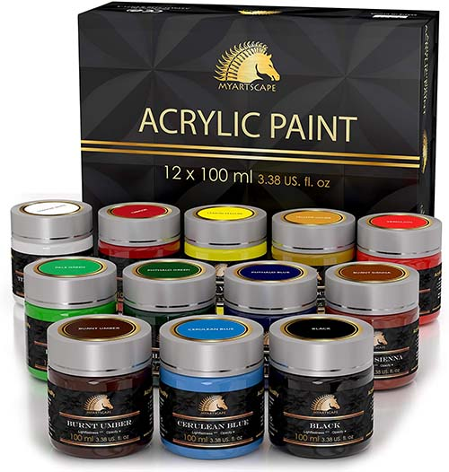 10 Easy Acrylic And Oil Painting Ideas 3
