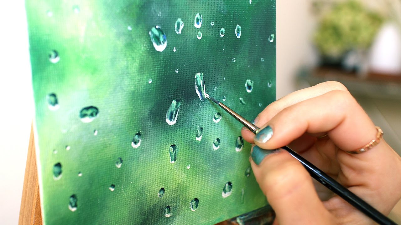 Fun and easy acrylic painting