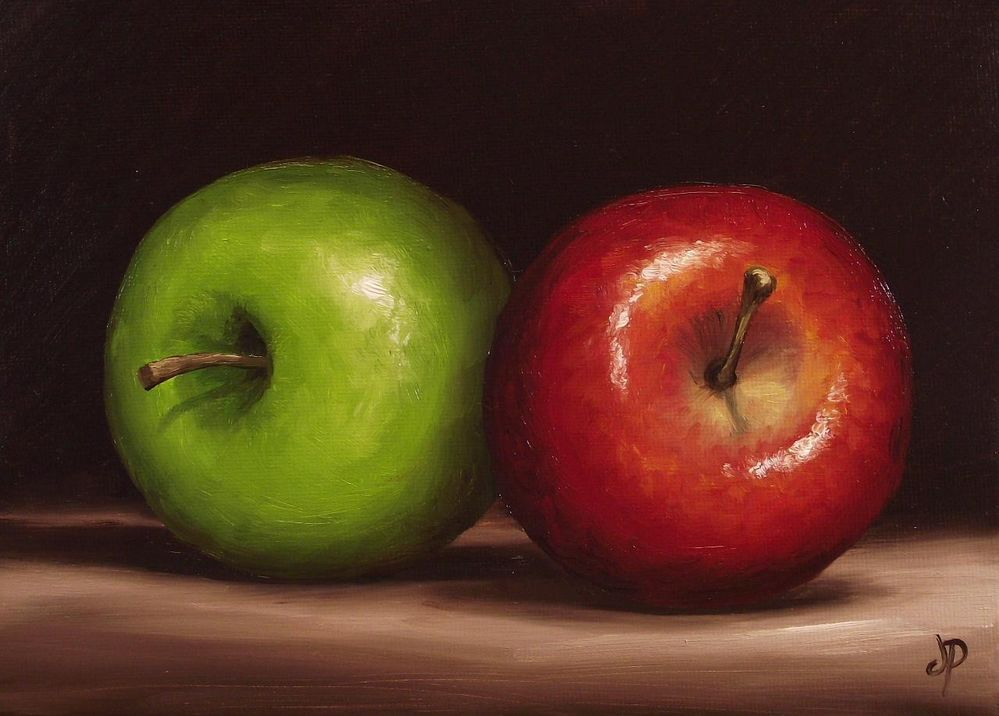 Easy Tips For Apple Oil Painting