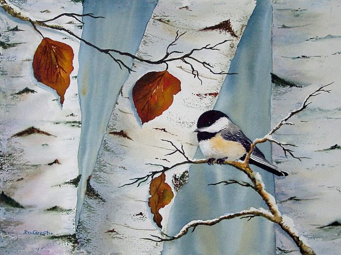 How To Paint Birch Trees Using Acrylics