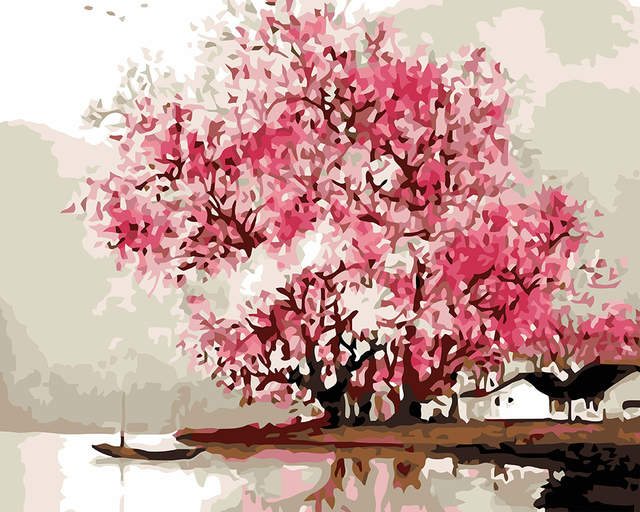 7 Easy Cherry Blossom Acrylic Painting Tutorial
