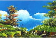 8 Easy Acrylic Landscaping Painting