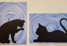5 Easy Steps For Cat Acrylic Painting