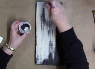 9 Easy Steps For Distressed Acrylic Painting