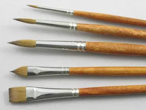 Good Quality Oil Painting Brushes