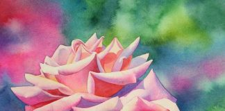 How to Paint Flowers Using Watercolor