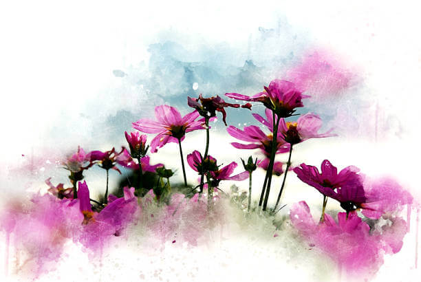 How to Paint Flowers Using Watercolor 3