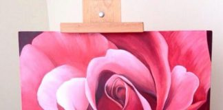 How to Paint a Rose with Acrylic