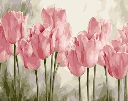 How to Paint Tulips with Acrylic