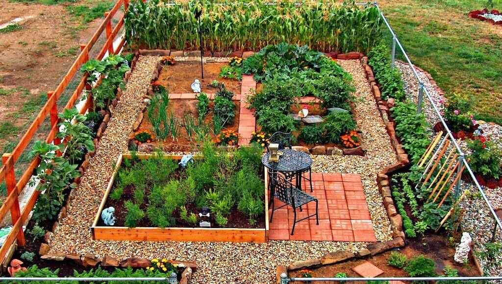Next Painting Idea - A Backyard Garden