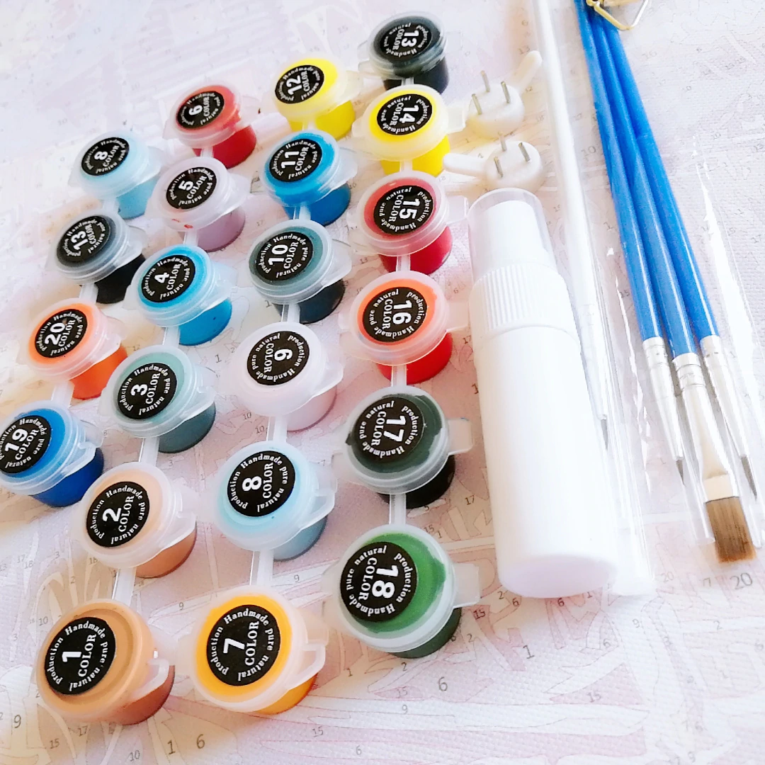 Paint by Number Kits - Are They Legit?