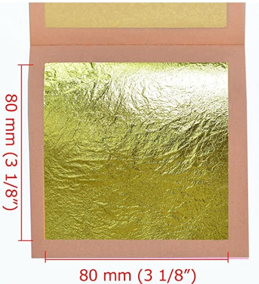 Stunning 5 Ways To Add Gold Leaf On Your Acrylic Paintings 11